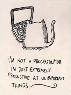 I am not a Procrastinator